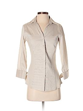 Zac & Rachel Short Sleeve Button-Down Shirt Size S