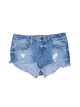 Topshop Denim Shorts Size 2