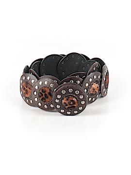 Miss Selfridge Leather Belt Size Med - Lg