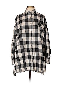 TOBI Long Sleeve Button-Down Shirt Size S