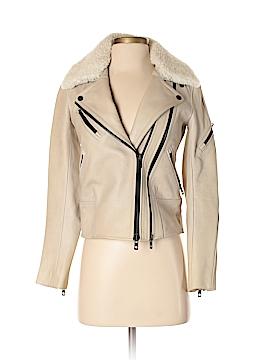 Rag & Bone Leather Jacket Size 00