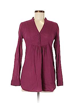 Zara TRF Long Sleeve Blouse Size S