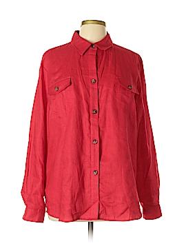 Madison Hill Long Sleeve Button-Down Shirt Size XL