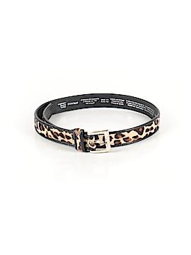Liz Claiborne Leather Belt Size S (Petite)