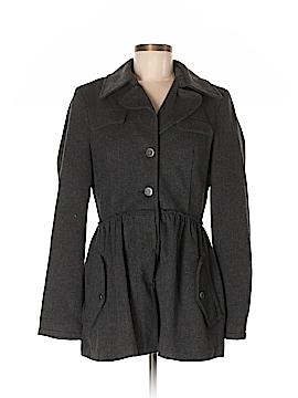 Twill Twenty Two Wool Coat Size M