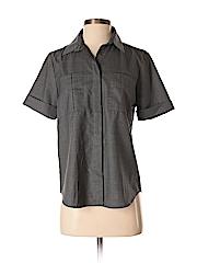 Reed Krakoff Women Short Sleeve Button-Down Shirt Size 4