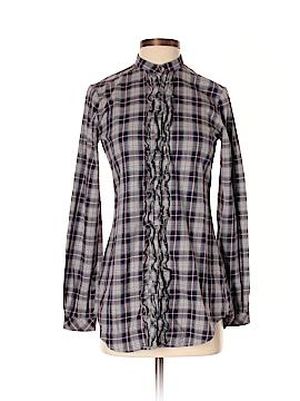 Stile Benetton Long Sleeve Button-Down Shirt Size XS