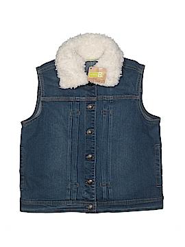Crazy 8 Denim Vest Size 10/12