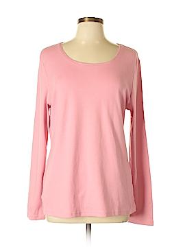 Karen Scott Long Sleeve Top Size L