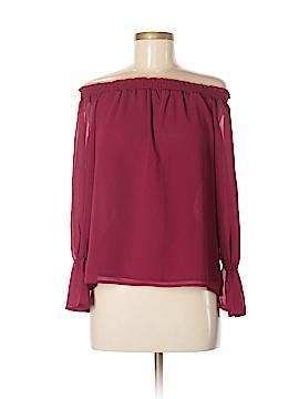 WAYF Long Sleeve Blouse Size M
