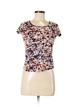 Simply Vera Vera Wang Short Sleeve Top Size S (Petite)