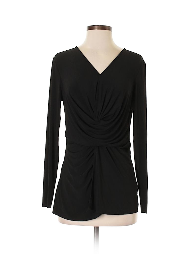 Saks Fifth Avenue Women Long Sleeve Blouse Size M