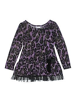 Bonnie Jean Long Sleeve Top Size 10