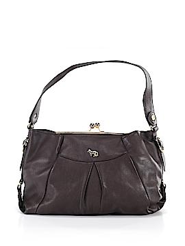 Emma Fox Leather Shoulder Bag One Size