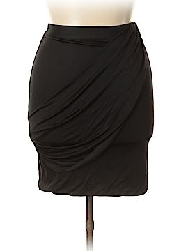 In Add Minus Silk Skirt Size L