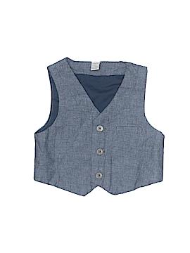 Macy's Tuxedo Vest Size 6-9 mo