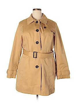 L.L.Bean Trenchcoat Size 2X (Plus)