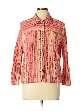 Draper's & Damon's Long Sleeve Button-Down Shirt Size L