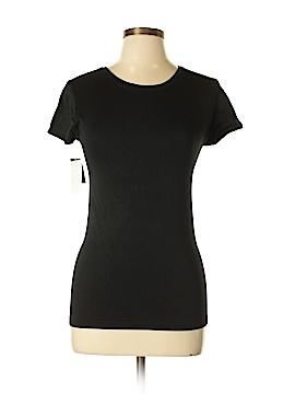 New York & Company Short Sleeve T-Shirt Size Lg - XL