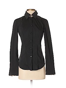 Roberto Cavalli Long Sleeve Button-Down Shirt Size S