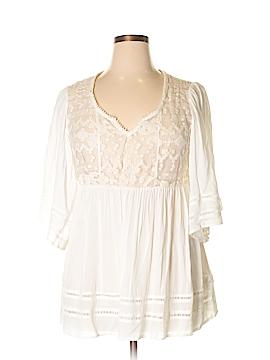 Knox Rose Short Sleeve Blouse Size XL