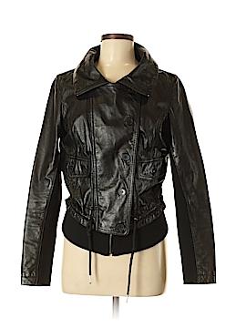 Rezrekshn by Esther Chen Leather Jacket Size M
