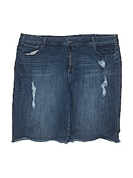 Lane Bryant Denim Shorts Size 28 (Plus)