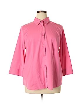 Alex Marie Long Sleeve Button-Down Shirt Size 16 (Plus)