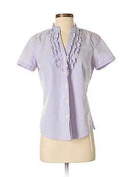 G.H. Bass & Co. Short Sleeve Button-Down Shirt Size M
