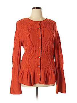 Doncaster Silk Cardigan Size XL