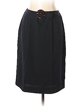 Valentino Miss V Wool Skirt Size 14