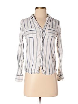 Full Tilt Long Sleeve Button-Down Shirt Size M
