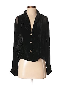 Citron Santa Monica Collection Silk Blazer Size S