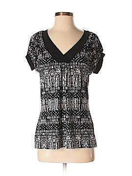Liz & Co Short Sleeve Top Size S