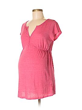 Old Navy - Maternity Short Sleeve Henley Size M (Maternity)