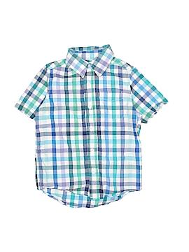The Children's Place Short Sleeve Button-Down Shirt Size 5 - 6