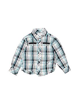 Little Maven Long Sleeve Button-Down Shirt Size 2T