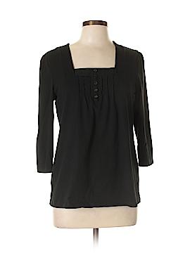 Kim Rogers 3/4 Sleeve Henley Size L