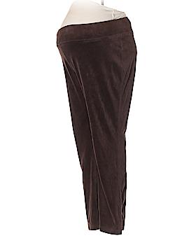 Liz Lange Maternity for Target Velour Pants Size M (Maternity)