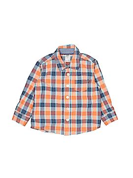 Baby B'gosh Long Sleeve Button-Down Shirt Size 2T
