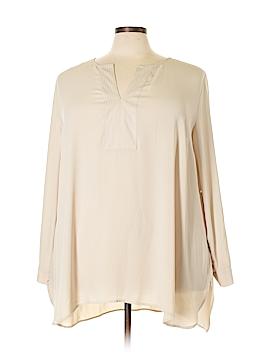 Daniel Rainn Long Sleeve Blouse Size 3X (Plus)