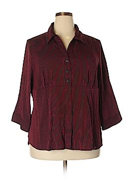 DressBarn 3/4 Sleeve Blouse Size 22 (Plus)