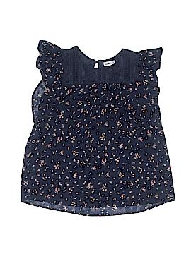 Monteau Girl Short Sleeve Blouse Size 12