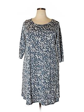 Purejill Casual Dress Size 2X (Plus)