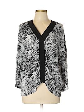 Trouve 3/4 Sleeve Blouse Size L