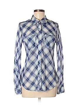 Abbot & Main Long Sleeve Button-Down Shirt Size S