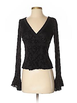 INC International Concepts Long Sleeve Blouse Size S