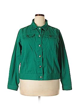 Westbound Denim Jacket Size 2X (Plus)