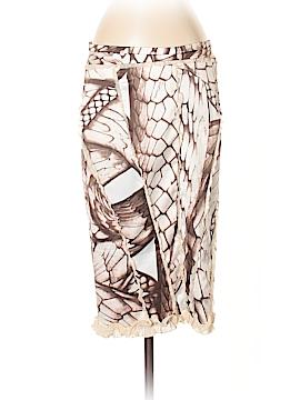 Just Cavalli Silk Skirt Size 40 (IT)