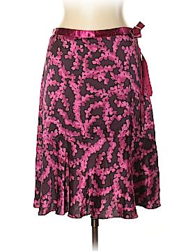 New York & Company Silk Skirt Size 10